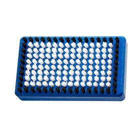 Holmenkol BaseBrush Nylon 125x70 mm blauw/wit